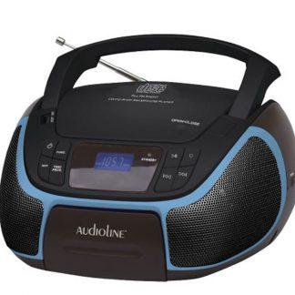 CD-96 Μαύρο-Μπλε (07.307)